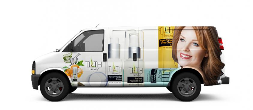 Graphic Design Auto Advertisement Skin Care Ad