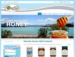 Manuka Honey USA Website