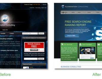 Illumination Consulting Celebrates 2012 With A New Website And Free Offers To Website Visitors