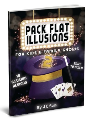 Pack Flat Illusions for Kids Family 2