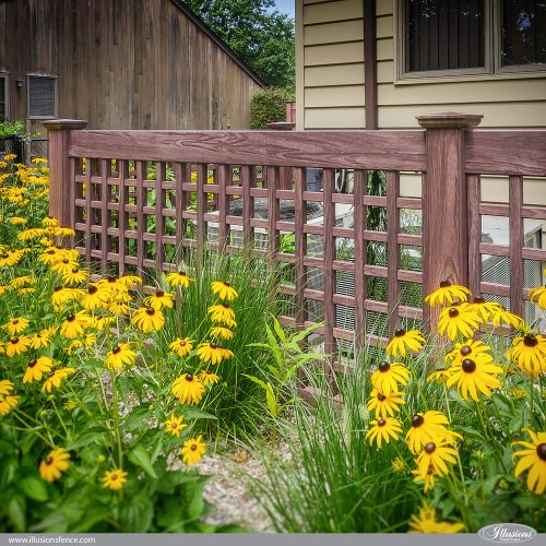 Medium Of Lattice Fence Panels