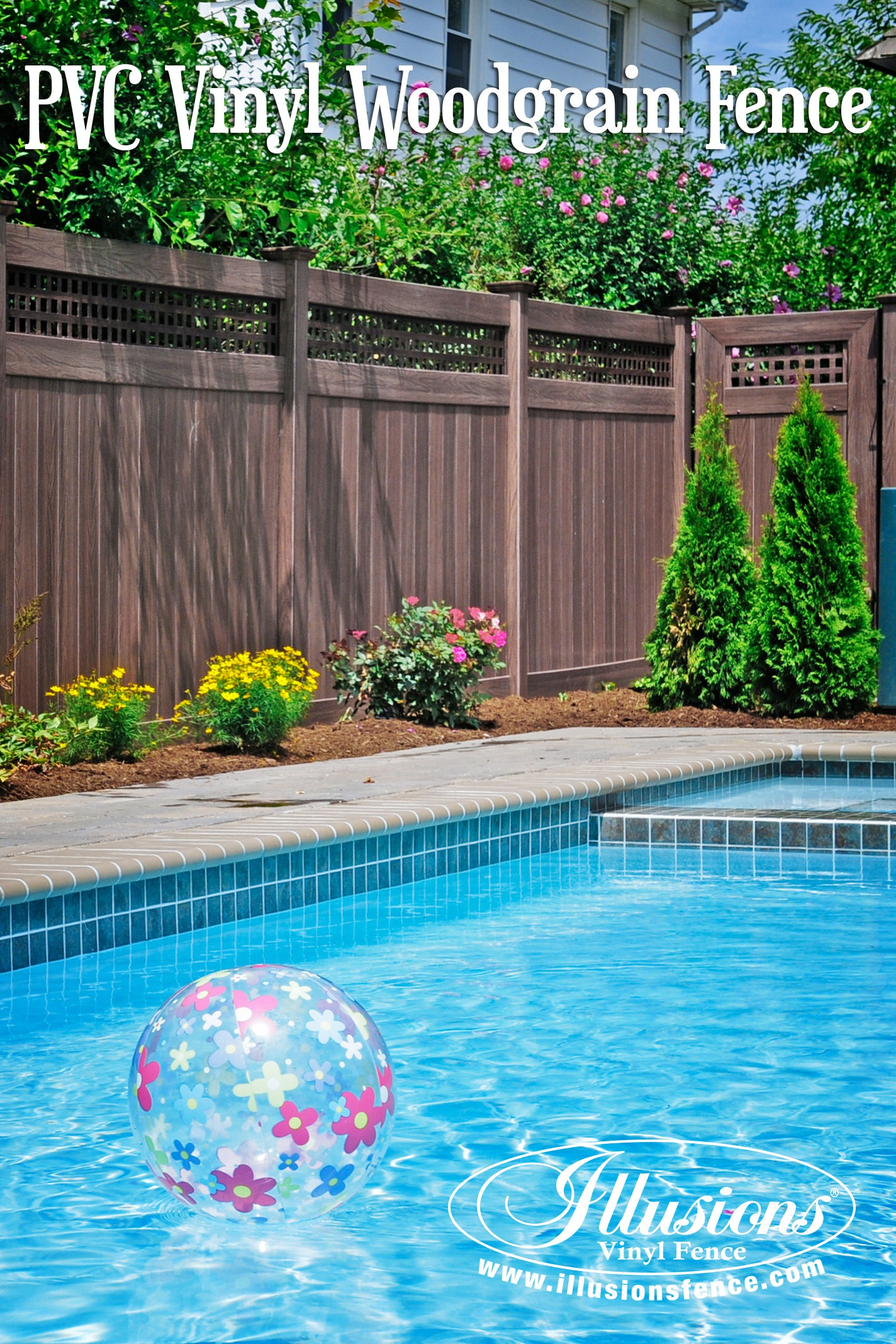 Backyard Fence 17 Fence Ideas That Add Curb Appeal To Your Home Illusions Vinyl