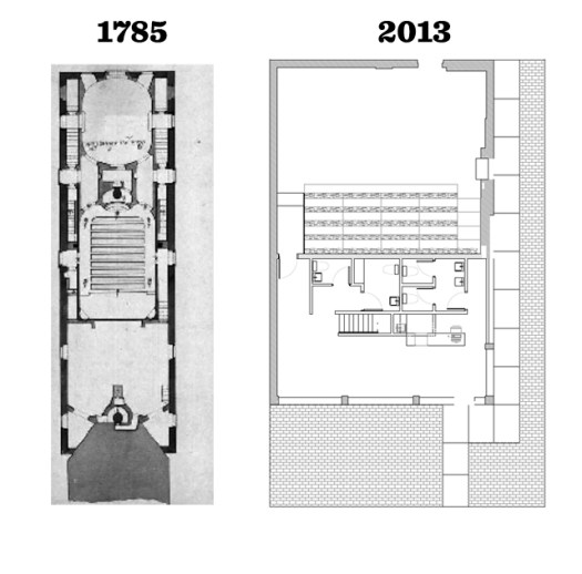 Plans 1785 : Haranyi, Esterhazi vigassagok, 1959, p.71 Plans 2103 : Henri Cleinge, architecte.