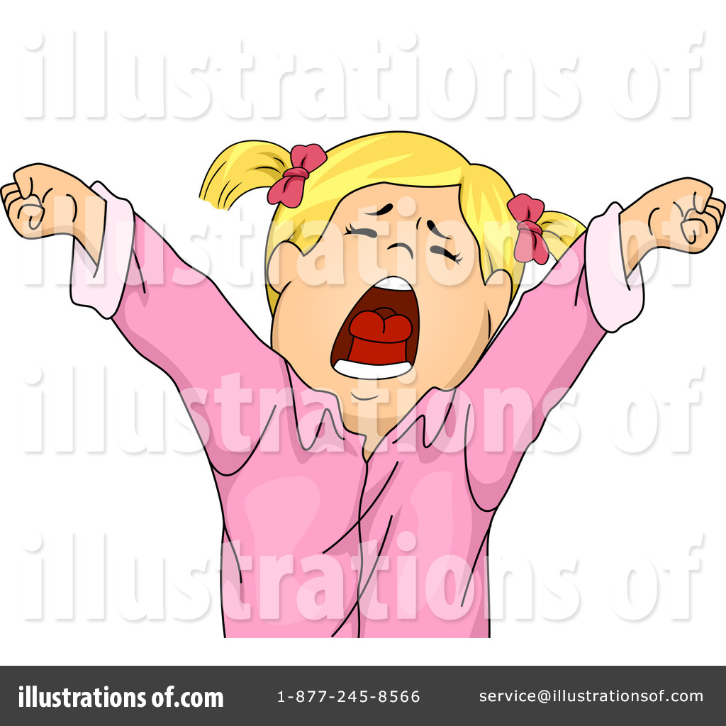Yawning Clipart 1271808 Illustration By Bnp Design Studio