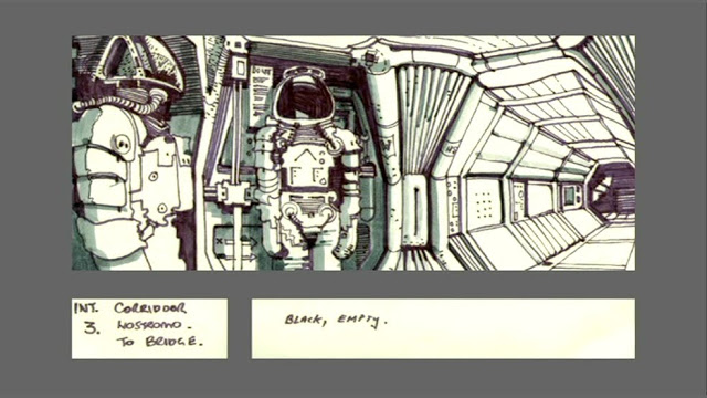 Awesome ALIEN Storyboard Art from Ridley Scott u2014 GeekTyrant - film storyboards