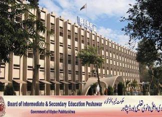 BISE Peshawar Board Intermediate Result 2015