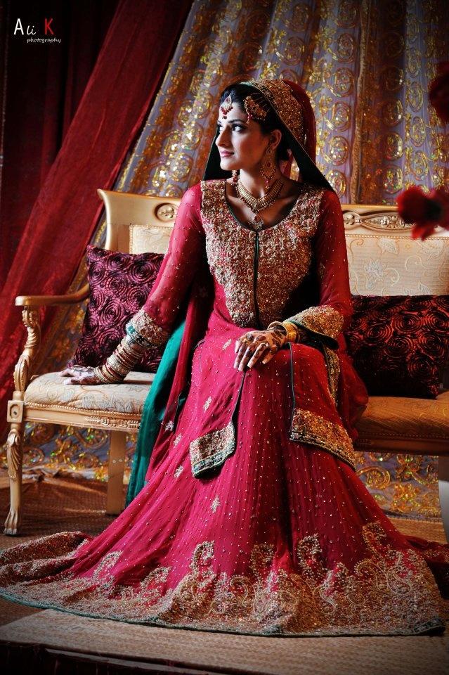 Pakistani Bridal Dresses 2015 8
