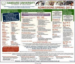 hamdard university spring admission 2013 1. 1929 x 1650.Punjab University Syllabus Of Ma Islamiat