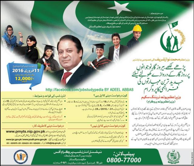 National Internship Program NIP 2016