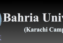 Bahria University Karachi Entry Test Result 2015, Merit List