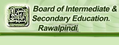 BISE Rawalpindi Board Matric 10th Class Result 2015