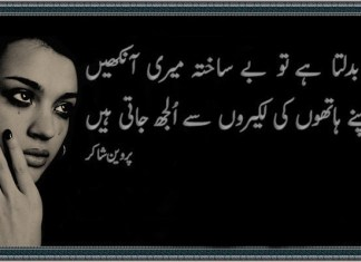 Parveen Shakir Poetry Books Name