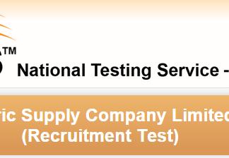 LESCO WAPDA Lahore NTS Test Date 2015 Roll No Slips Download