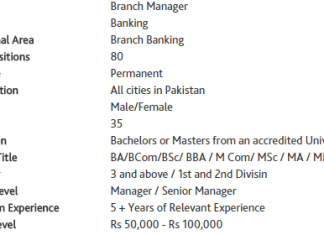 Habib Bank limited Pakistan jobs 2015 apply online branch manager