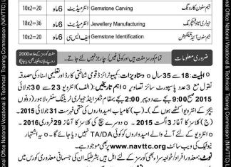 NAVTTC Latest Free Courses 2015 Application Form Download 1