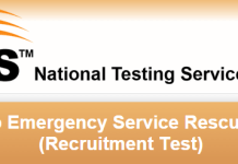 Rescue 1122 NTS Test Result 2015 Punjab Answer Keys