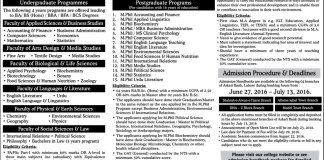 Kinnaird College for Women Admissions Fall 2016