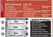 Sharif College of Engineering and Technology SCET Admission 2016