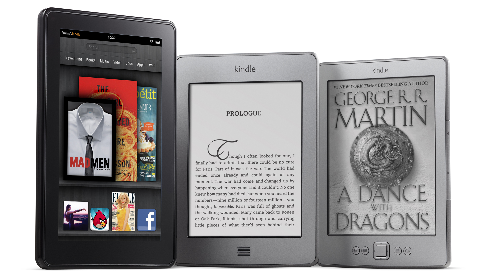 Lector De Libros Electronicos Kindle Amazon Lanza Kindle Fire, Mucho Más Que Un Léctor De