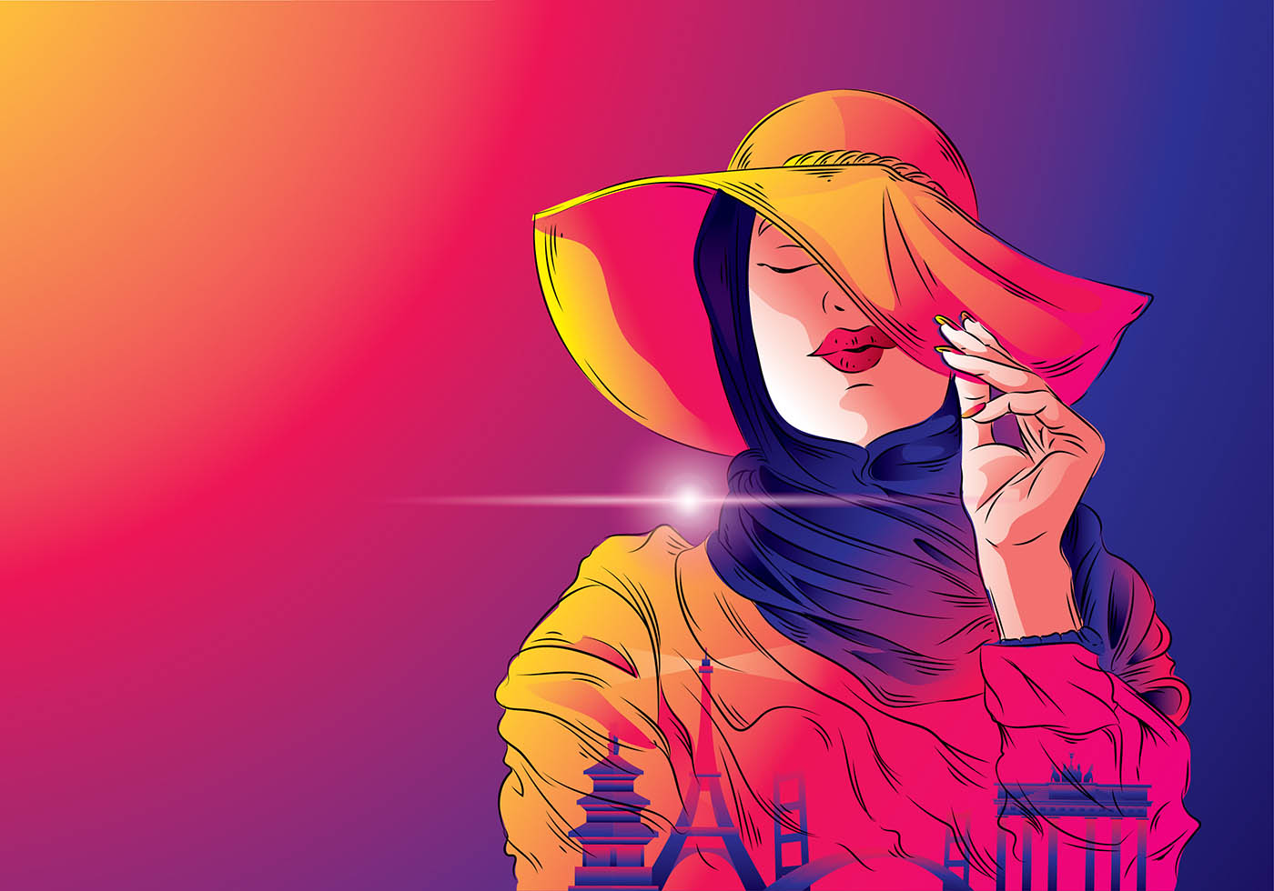 Cartoon Images Fall Wallpaper The Problem With Hijab Fashion Ilmfeed