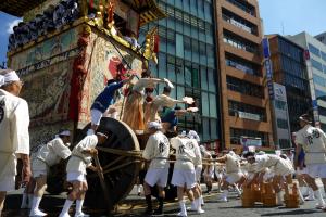 京都祇園祭の画像
