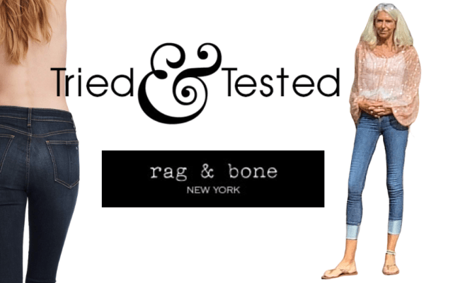 试过了& tested Rag & Bone