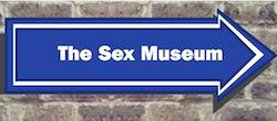 Sex museum sign