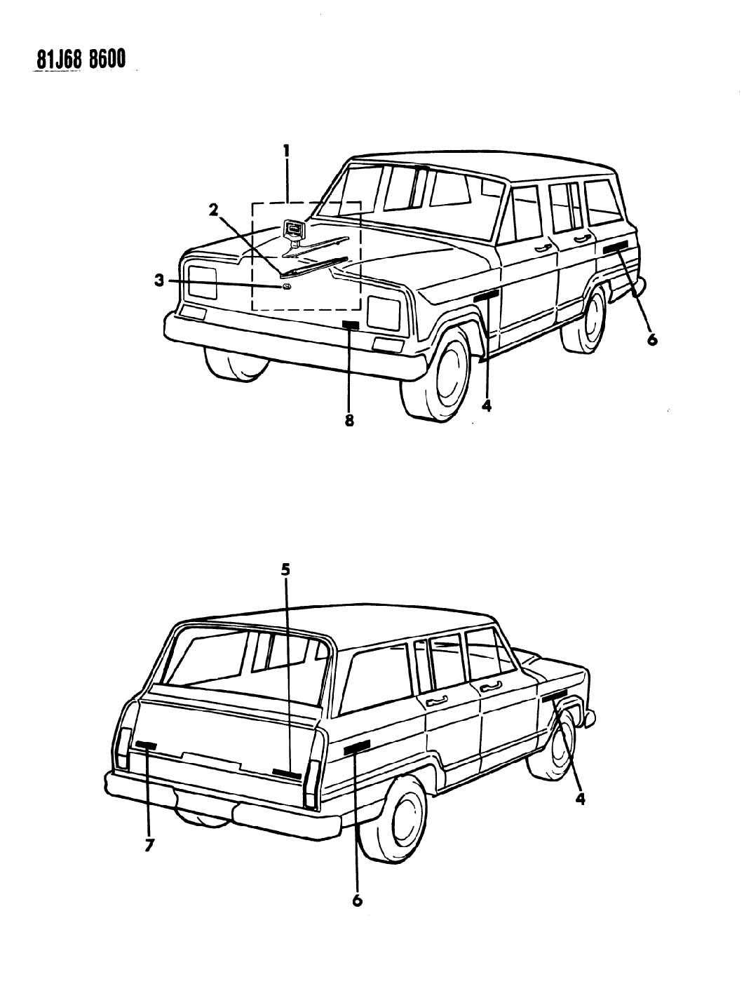 1984 jeep gw diagrams