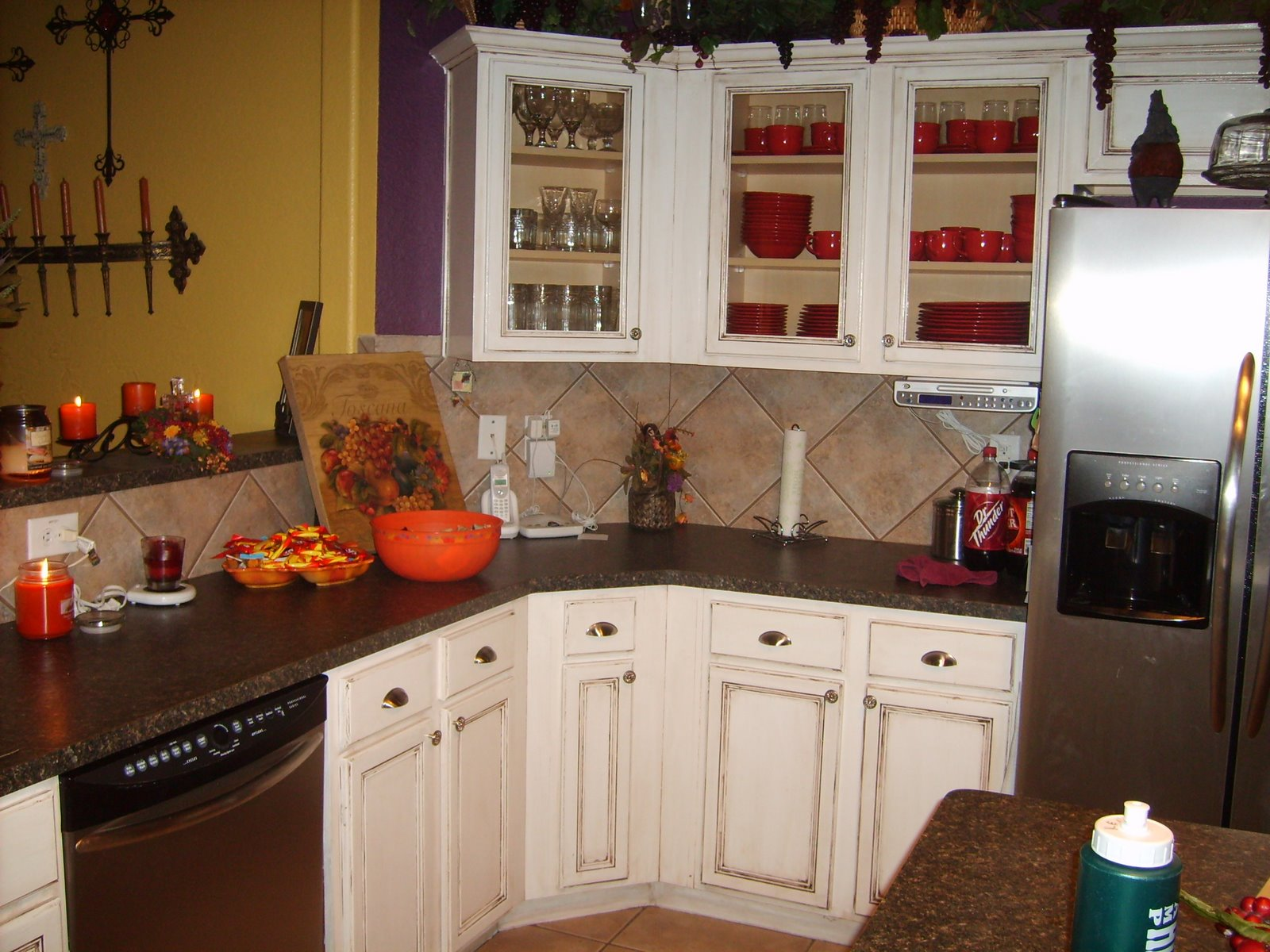 kitchen re dooh my affordable kitchen cabinets My inspiration Kitchen Redone Cheap but Beautiful