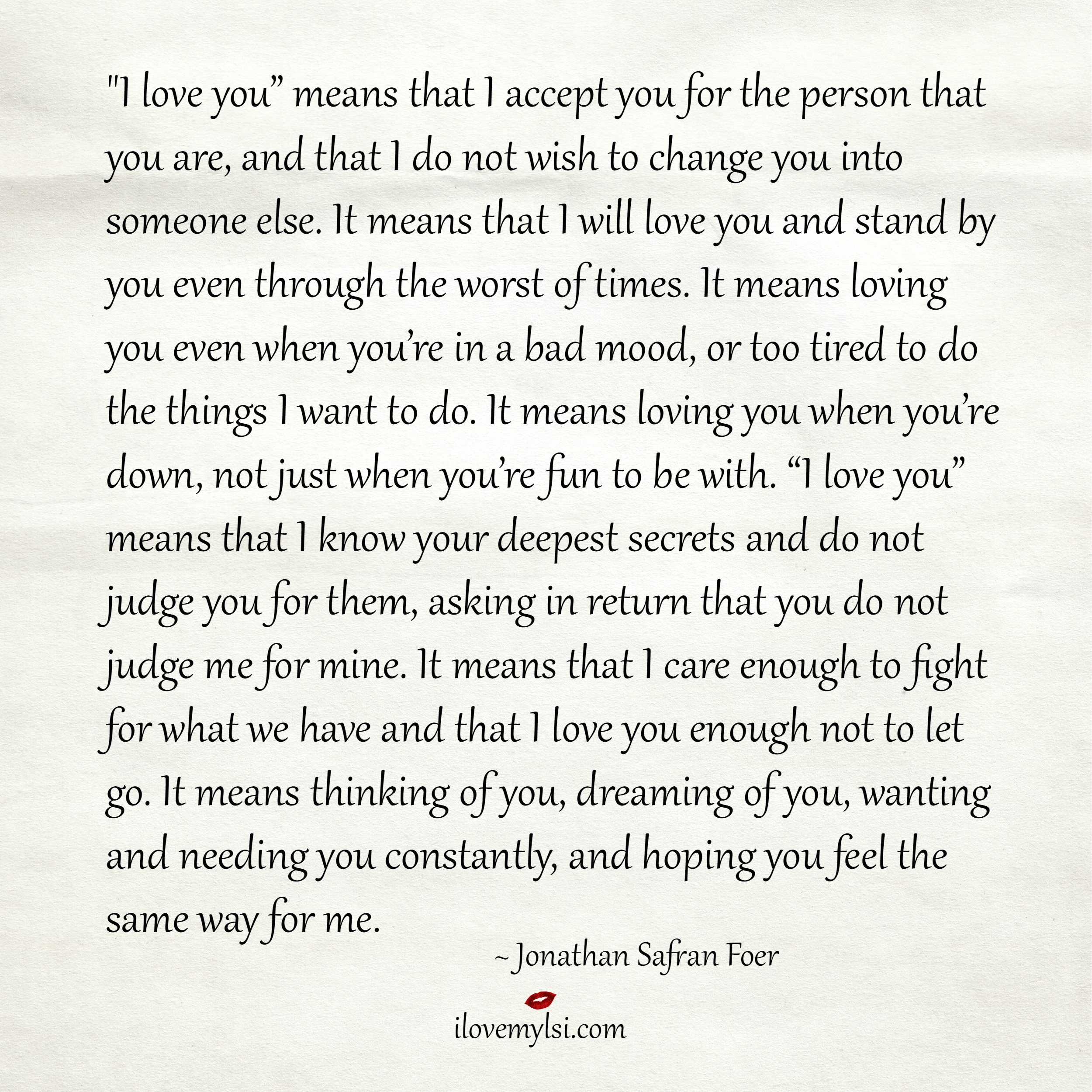 I Love You I Wont Let You Down Quotes Quotesgram