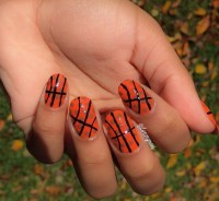 Basketball Nail Art! | i love my mani