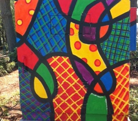 Newton BoxART. Newton MA street art gallery