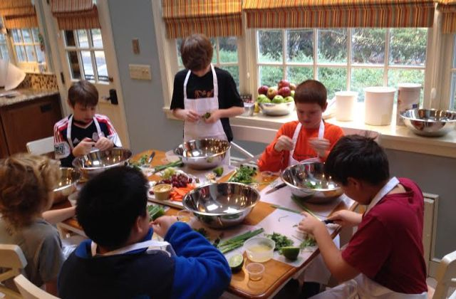 Mindy's cooking classes for kids Newton MA