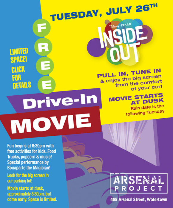 Free Drive-In Movie: Inside Out