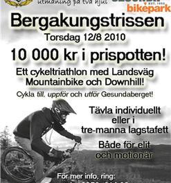 Bergakungstrissen – cykelutmaning utöver det vanliga!