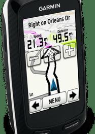 Cykeldator med GPS och pekskärm från Garmin