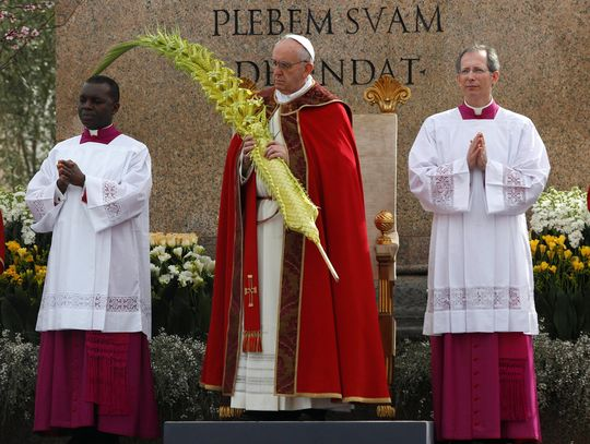 Pope Francis Celebrate Palm Sunday