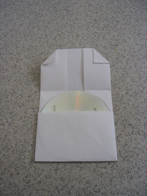 How to Make a Folded-Paper CD Case \u2013 I Love To Cook