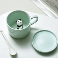 Ceramic Coffee Mugs With Animals Inside | Animal Surprise Mugs