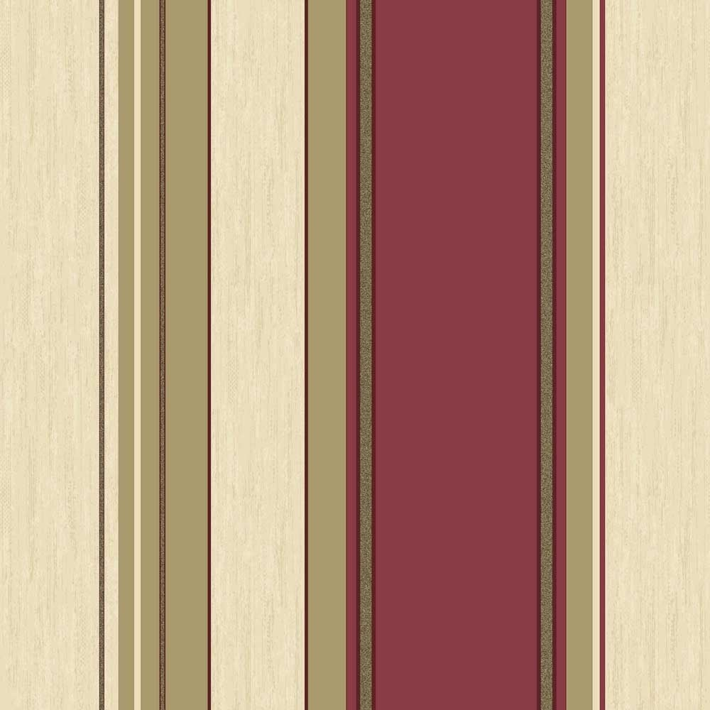 Black And Cream Damask Wallpaper Crown Synergy Striped Wallpaper Rich Red Cream Gold