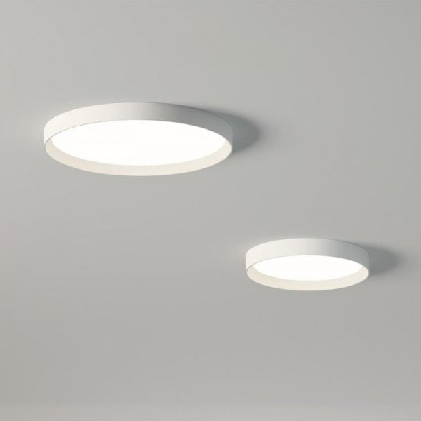 Lamparas Modernas Led Lámpara Techo Up Circular Vibia - Ilutop
