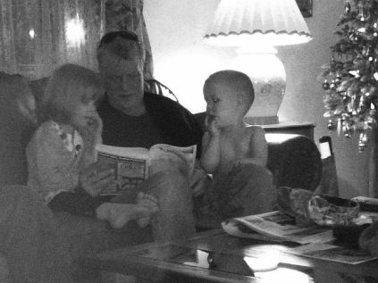 Uncle Greg reads the telephone book