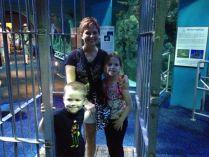 Shark cage.
