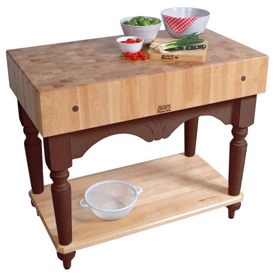 John Boos Kitchen Worktables: Calais Work Table