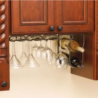 Wine Glass Stemware Racks for Shelf or Under Cabinet ...