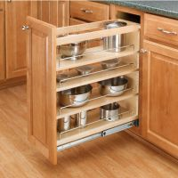 Cabinet-Organizers - Adjustable Wood Pull-Out Organizers ...