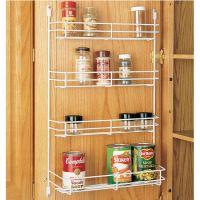Cabinet Organizers - Kitchen Cabinet Wire Door Mount Spice ...