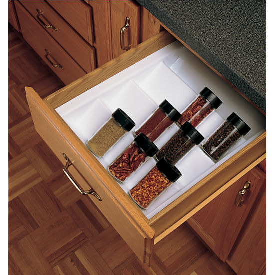 Drawer Organizers Cabinet Spice Drawer Insert By Rev A