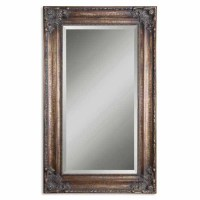 Bathroom Mirrors - Uttermost Bertha Bronze Mirror ...