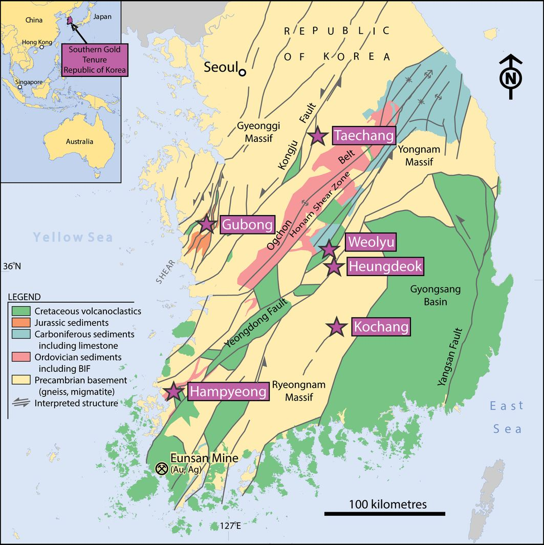 About South Korea Access Granted To South Korean Gold Mine International Mining